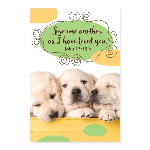 Memo Pad Puppy John 15