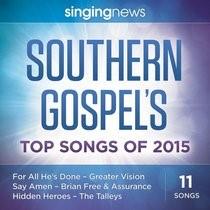 Singing News Southern Gospel Songs 2015 CD (CD-Audio)