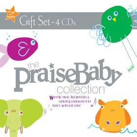 Praise Baby Collection 4 CD Gift Set (CD-Audio)