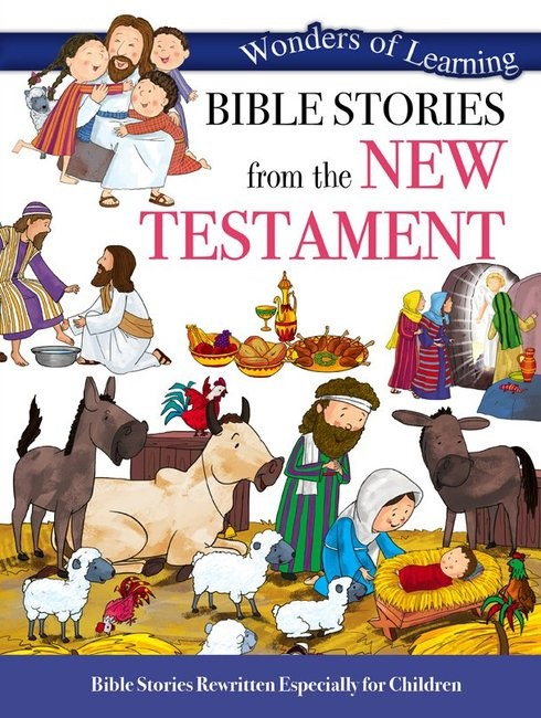 Wonders of Learning: Bible Stories from the New Testament (Paper Back)