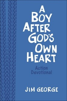Boy After God's Own Heart Action Devotional Deluxe Edition (Leather Binding)