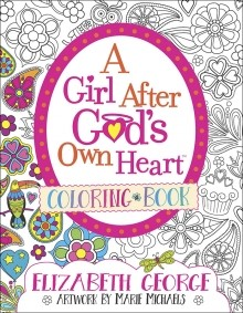 Girl After God's Own Heart Coloring Book, A (Paperback)