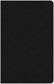 CSB Ultrathin Bible, Black Genuine Leather (Genuine Leather)