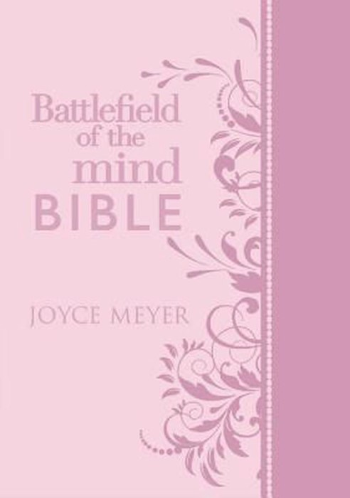 Battlefield Of The Mind Bible, Pink (Hard Cover)