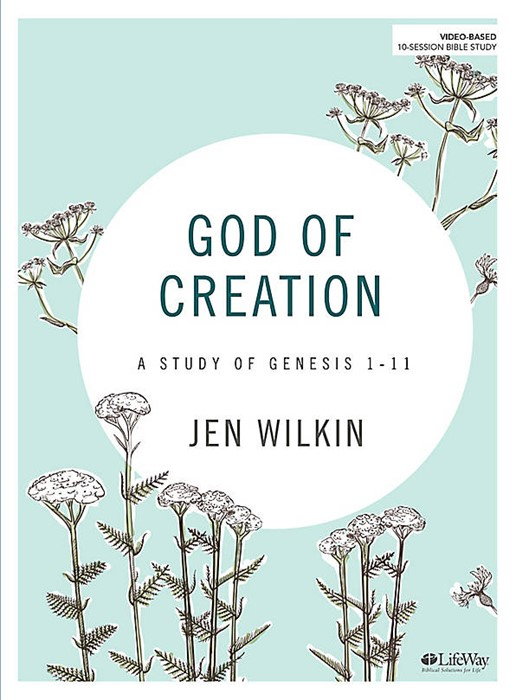 God Of Creation Bible Study Book (Paper Back)