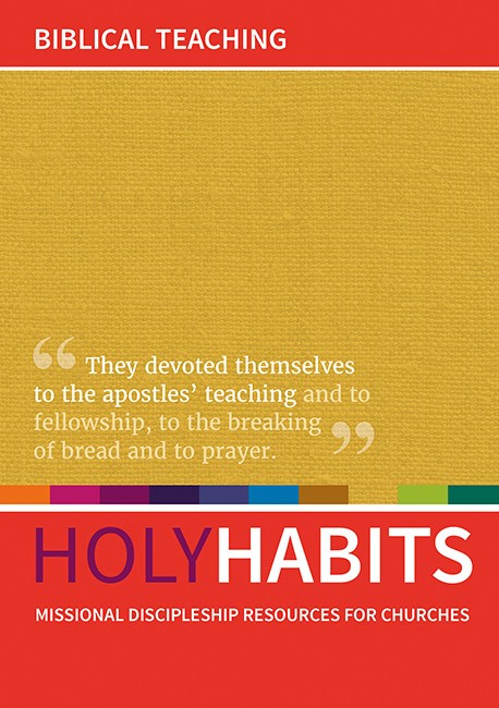 Holy Habits: Biblical Teaching. (Paper Back)