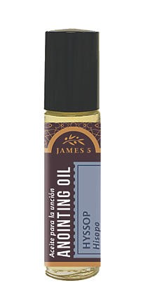 Anointing Oil Hyssop 1/3oz Roll On