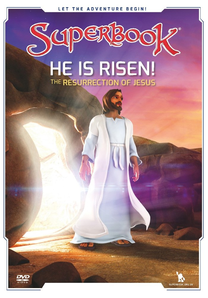 Superbook: He Is Risen! DVD