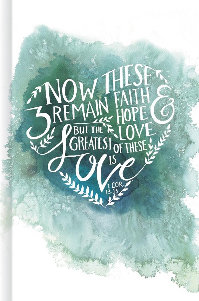 Faith, Hope, and Love, Journal