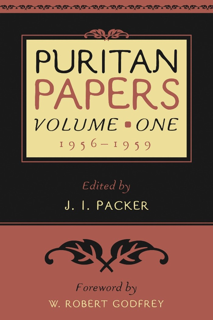 Puritan Papers: Vol. 1, 1956-1959