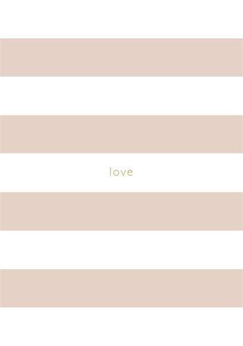 A5 Notebook Pink Striped