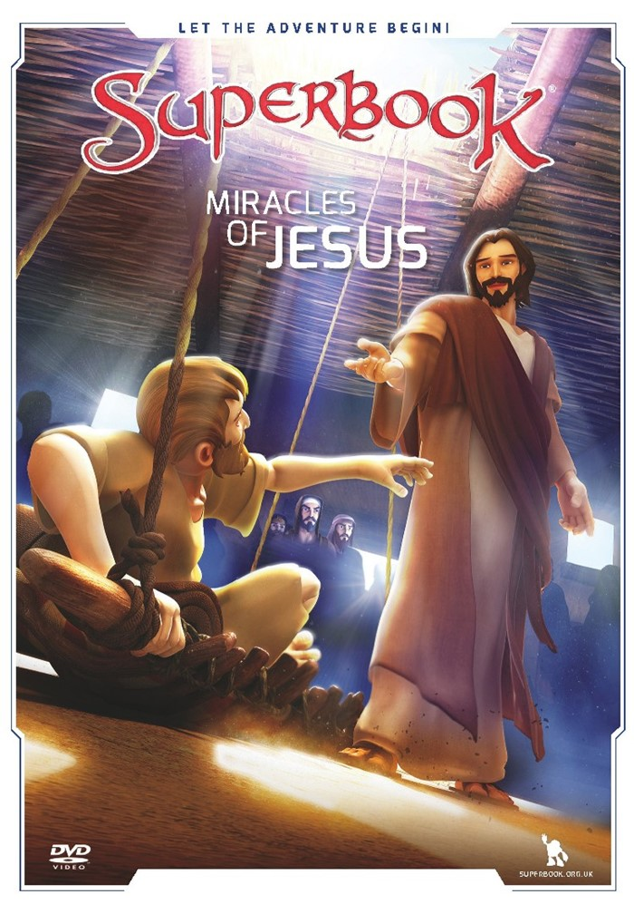 Superbook: Miracles Of Jesus DVD