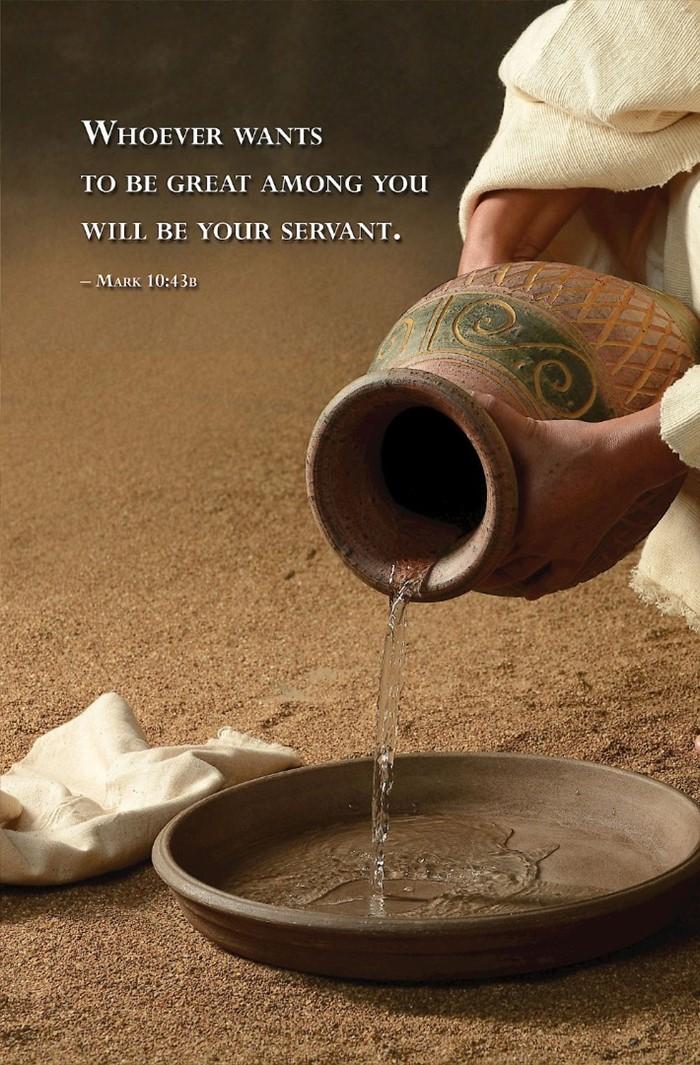 Water Basin Scripture Series Bulletin (Pkg of 50)