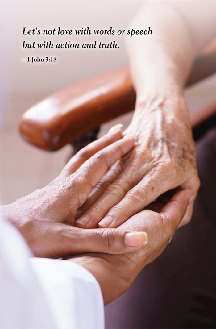 Hands Scripture Series Bulletin (Pkg of 50)
