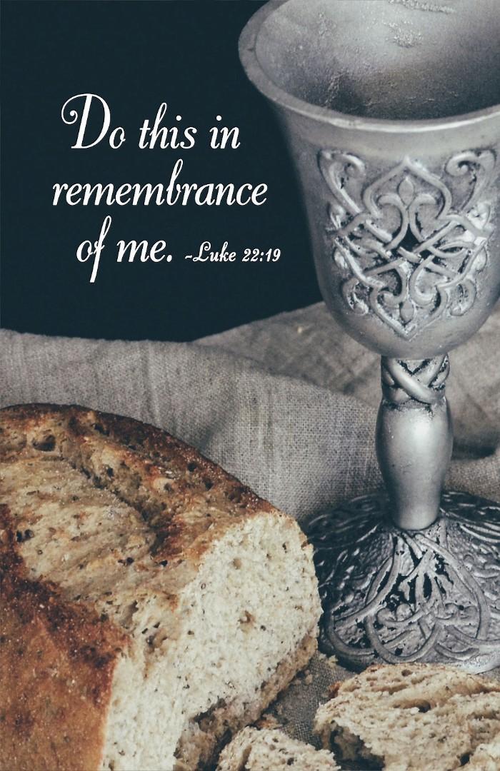 Do This Communion Bulletin (Pkg of 50)