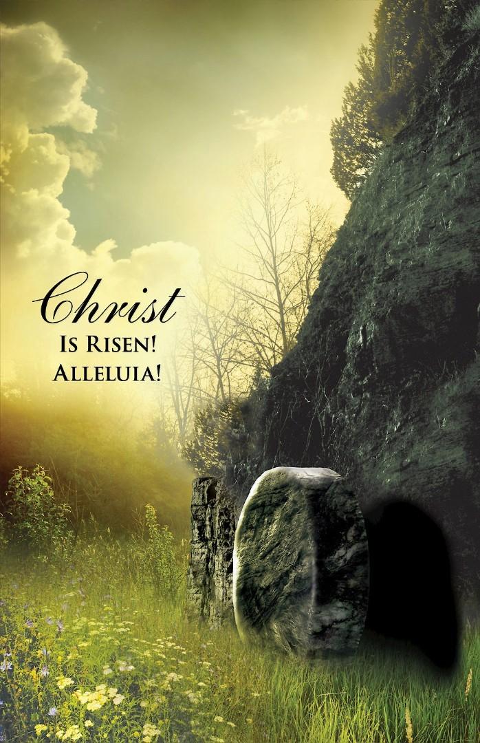 Christ Sunrise Easter Bulletin (Pkg of 50)