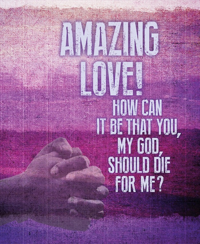 Amazing Love Images Bulletin, Large (Pkg of 50