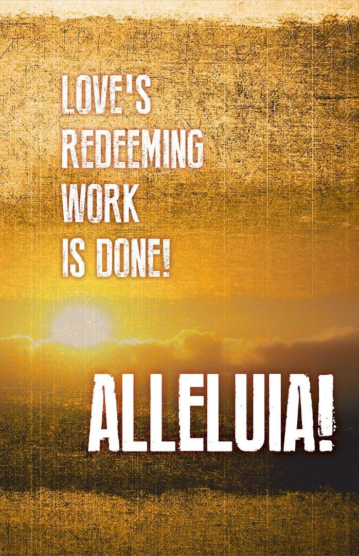 Alleluia! Easter Images Bulletin (Pkg of 50)