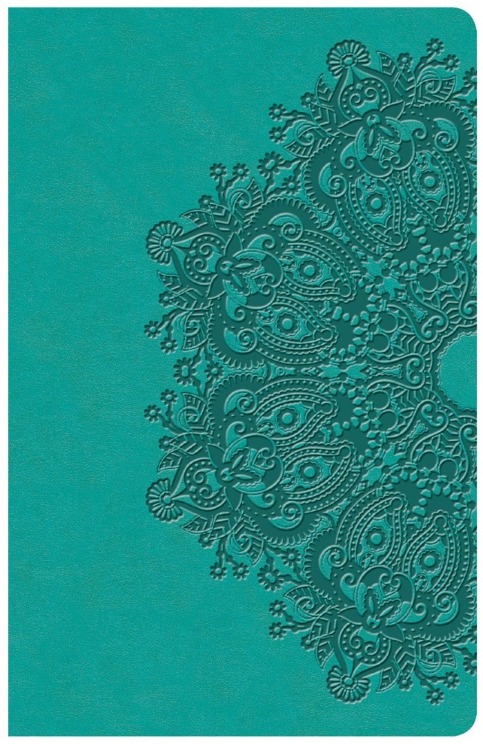 KJV Large Print Personal Size Reference Bible, Teal
