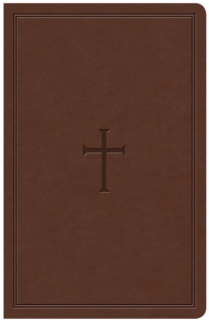 KJV Large Print Personal Size Reference Bible, Brown