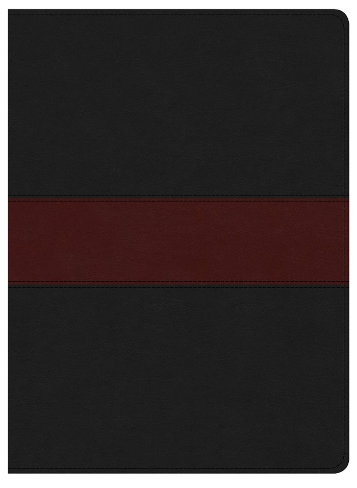KJV Apologetics Study Bible, Black/Red Leathertouch