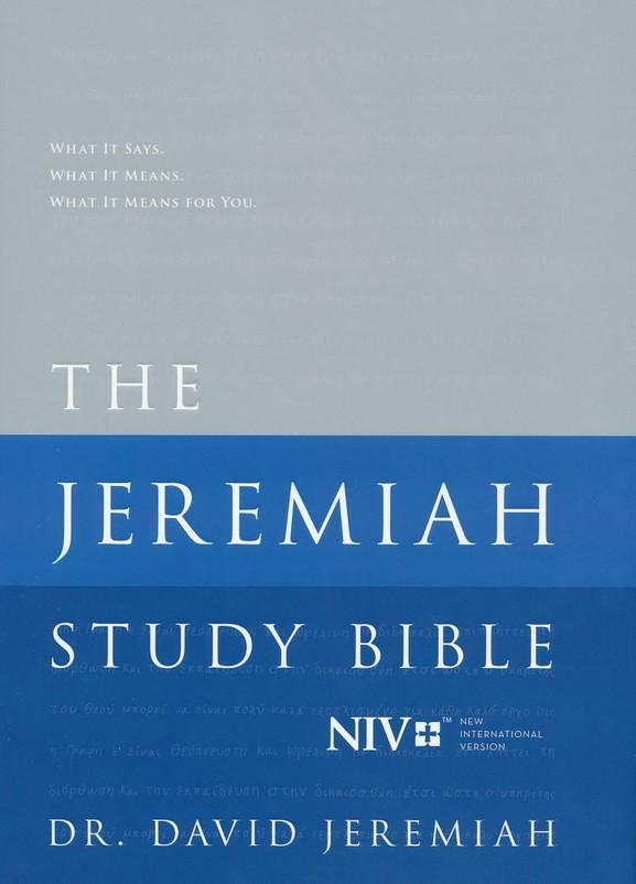 The NIV Jeremiah Study Bible