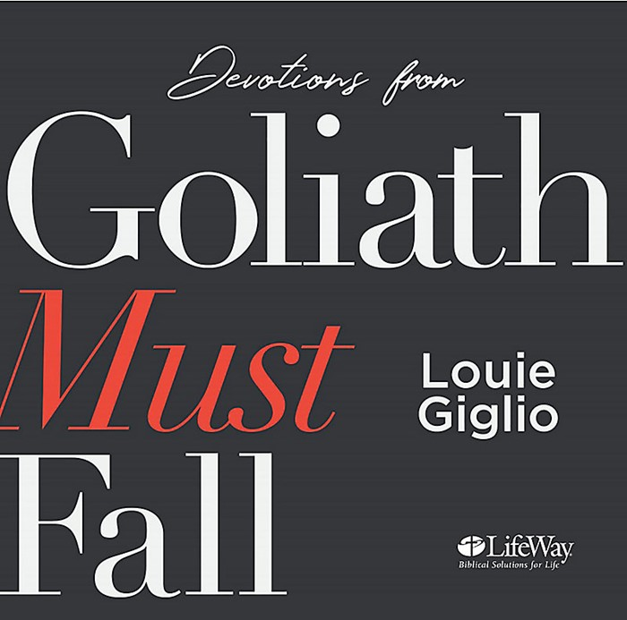 Goliath Must Fall Audio CD