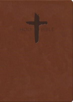 KJV Sword Study Bible, Giant Print, Chestnut