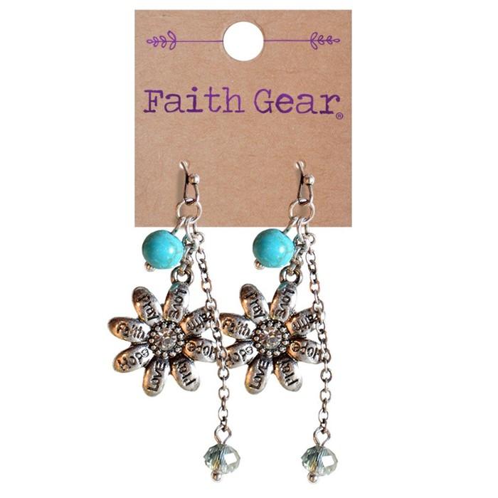 Faith Gear Women's Earrings - Flowers
