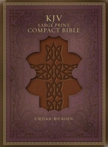 KJV Large Print Compact Bible, Black, Indexed