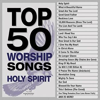 Top 50 Worship Songs CD