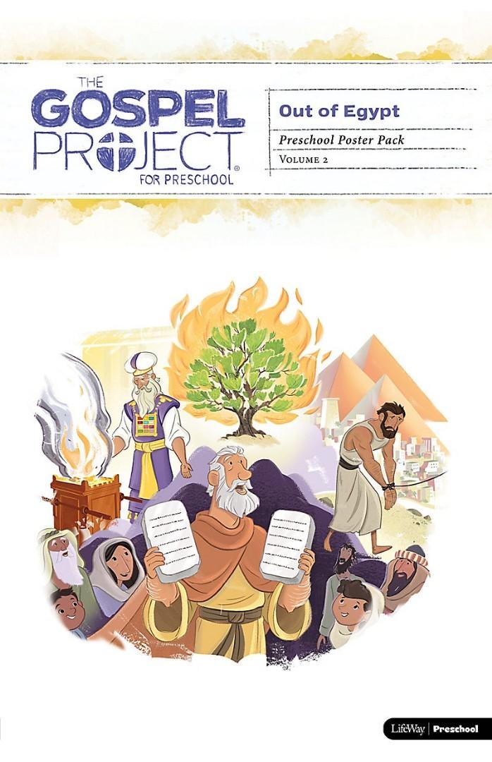 Gospel Project For Preschool: Poster Pack, Winter 2019