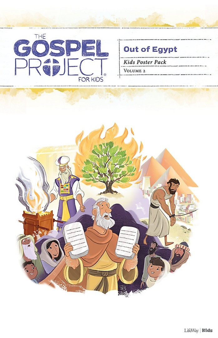 Gospel Project For Kids: Poster Pack, Winter 2019