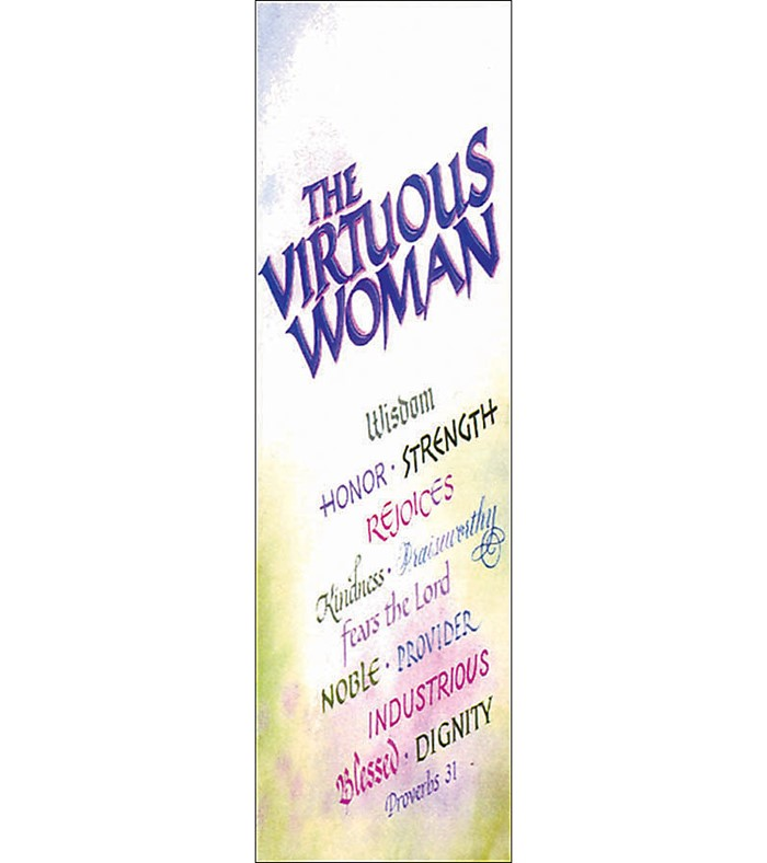 Virtuous Woman Bookmark (Pack of 25)