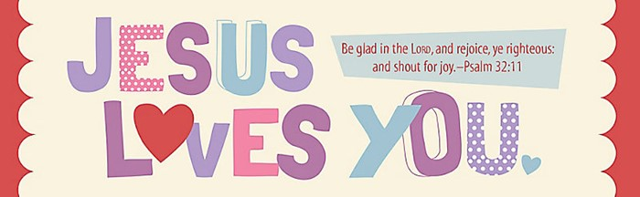 Jesus Loves You Bookmark (Pack of 25)