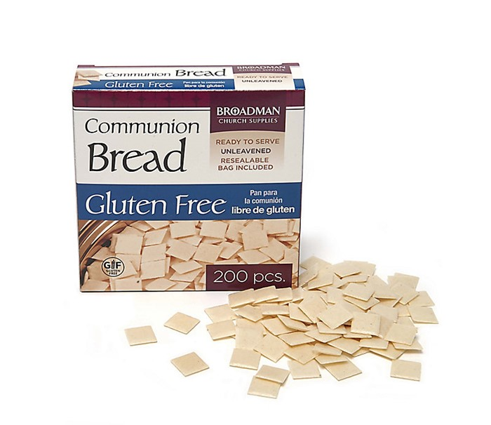 Communion Bread Gluten Free (Pack of 200)