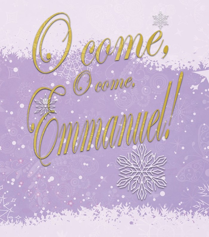 O Come Advent Bulletin, Large (Pkg of 50)