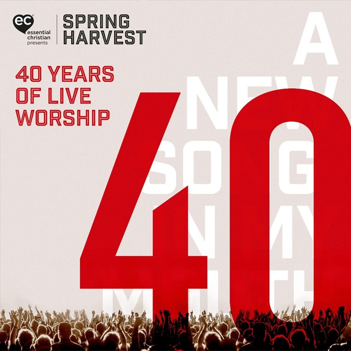 Spring Harvest - 40 Years of Live Worship CD