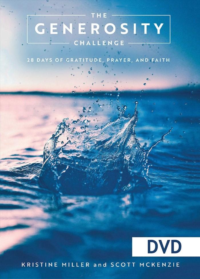 The Generosity Challenge DVD