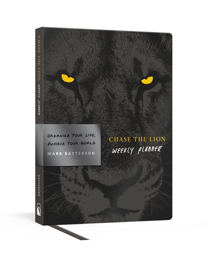 Chase the Lion Weekly Planner