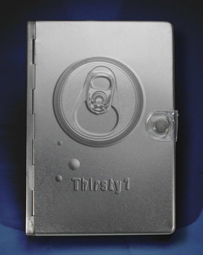 NLT Metal Bible: Silver Thirsty