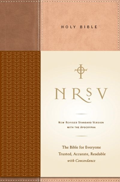 NRSV Standard Bible with Apocrypha, Tan/Brown
