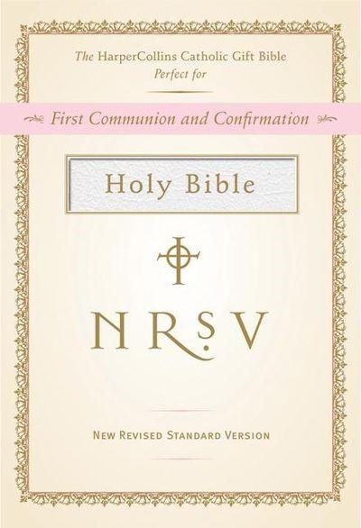 NRSV Catholic Gift Bible, White