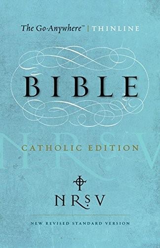 NRSV Go-Anywhere Thinline Bible, Catholic Edition
