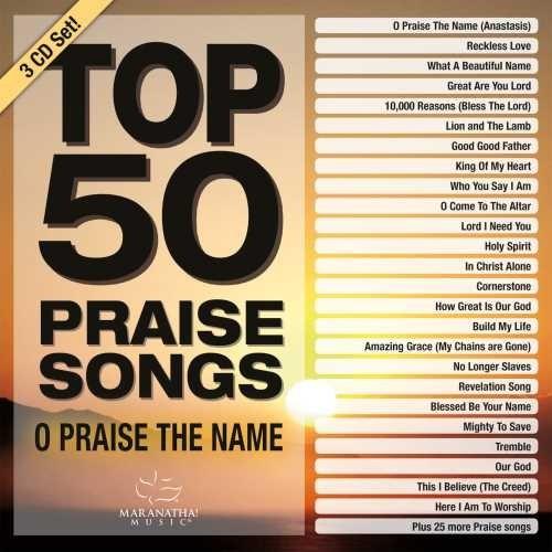 Top 50 Praise Songs CD