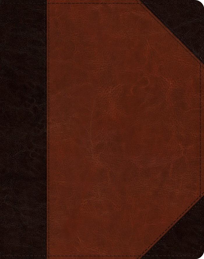 ESV Single Column Journaling Bible, TruTone, Brown/Cordovan