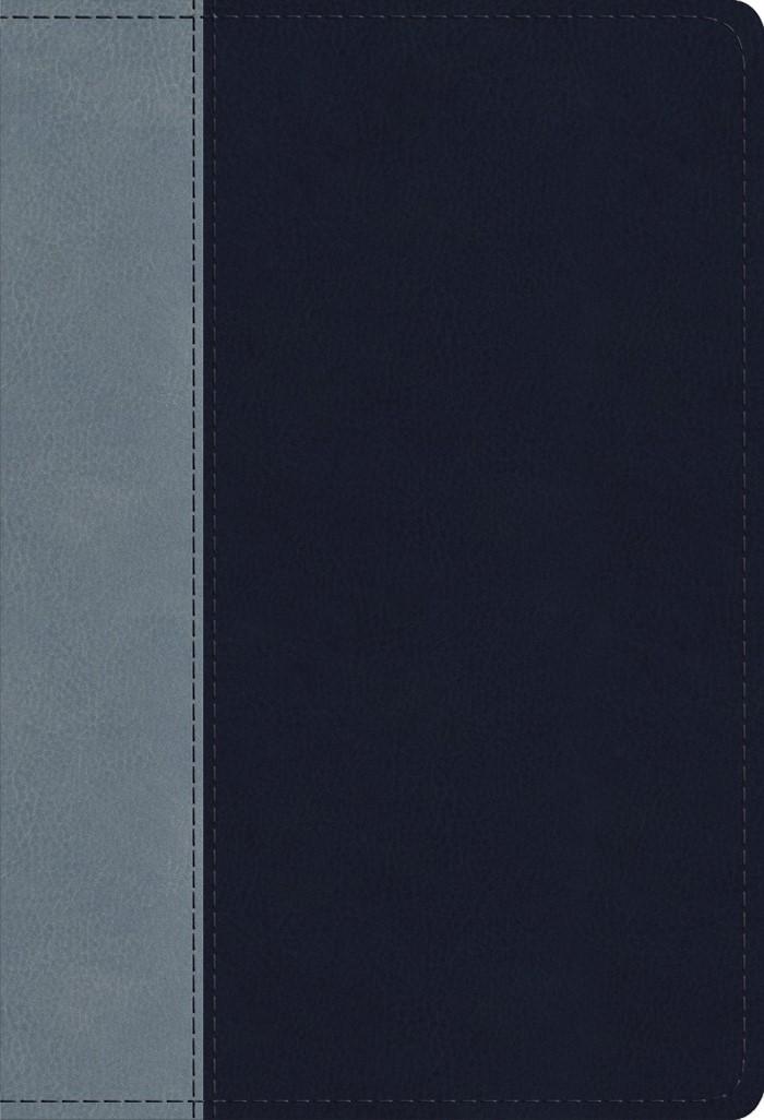 ESV Student Study Bible, Navy/Slate, Timeless Design