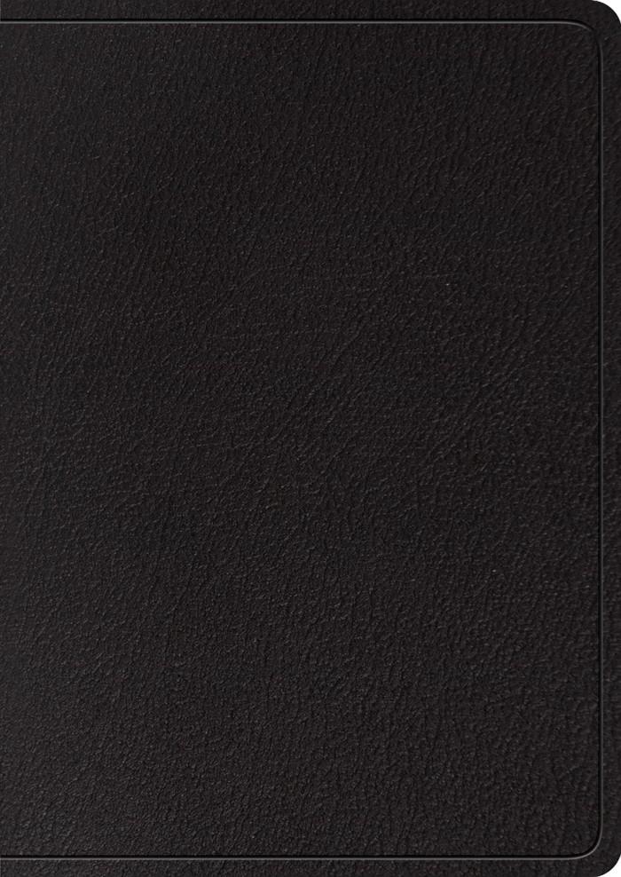 ESV Study Bible, Large Print, Black, Indexed