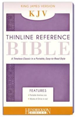 KJV Thinline Reference Bible, Lilac