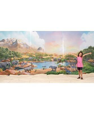 Zoofari Fabric Wall Hanging